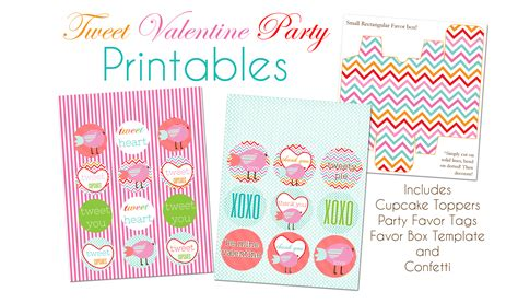 free valentines templates free tweet s day printables pizzazzerie
