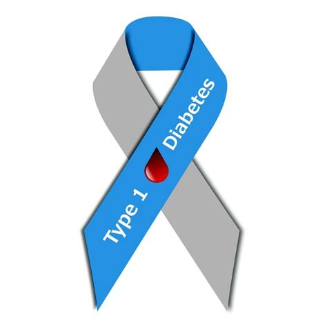juvinile diabetes ribbon juvenile diabetes awareness