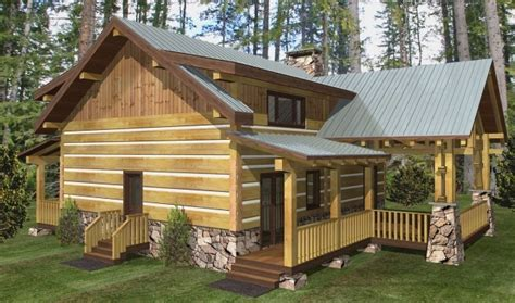 large log home plans big rock timber frame plans 2344sqft streamline design