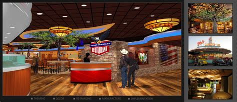 The Great American Restaurant The Great American Restaurant Design Rendering I 5 Design Manufacture