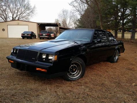 1987 buick regal grand national 1987 buick regal grand national w astroroof 34k