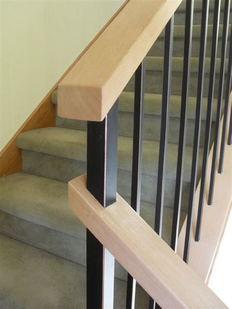 modern banister modern handrail systems traditional staircase