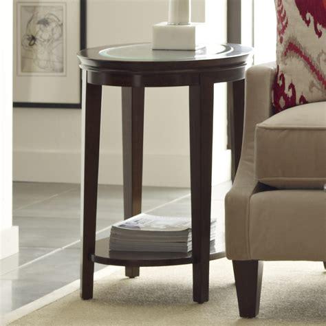 furniture elise transitional elise oval end table