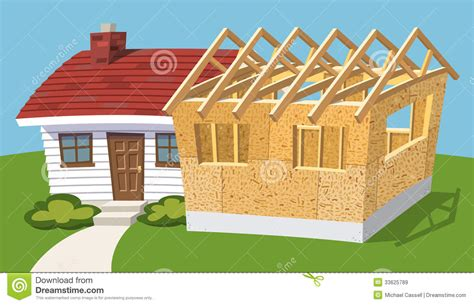add on house plans house add on plans home addition royalty free stock images image 33625789