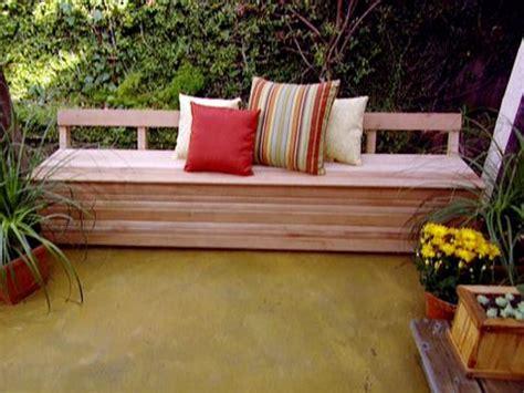 build outdoor storage bench garden storage bench diy furnitureplans