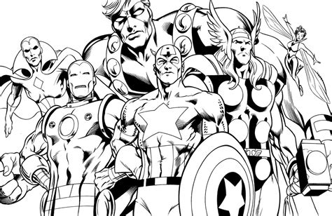 superhero coloring pages avengers coloring pages april 2015