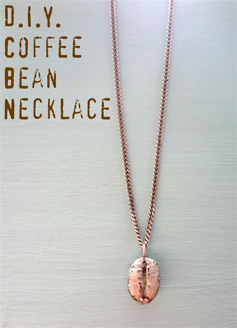 attack of the hungry d i y coffee bean necklace