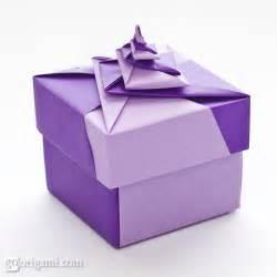 locked spiral square origami box go origami