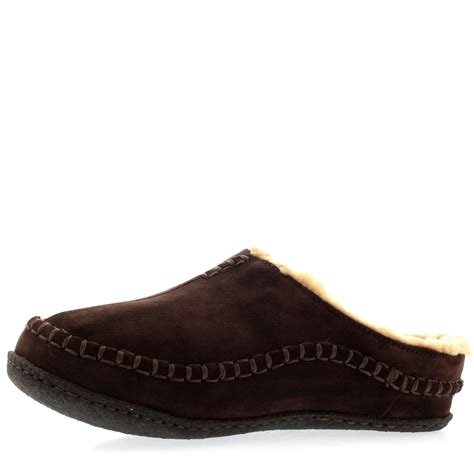 mens sorel slippers mens sorel falcon ridge slip on fur lined winter warm