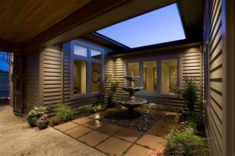 Courtyard Homes courtyard traditional patio portland by kaufman
