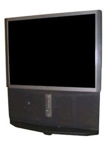 55 Mitsubishi Projection Tv Sony Rear Projection Tv Ebay