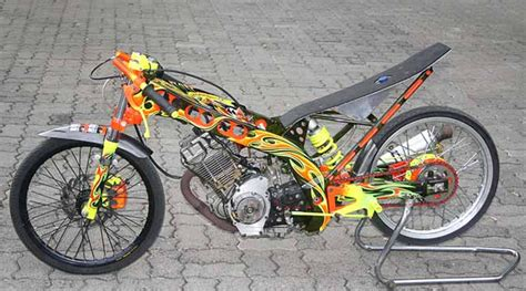 Gambar Modifikasi Motor Drag by 100 Gambar Motor Drag Mio Jupiter Rx King