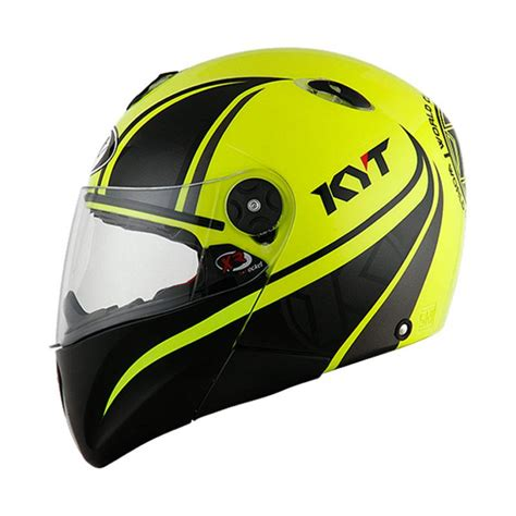 Helm Kyt Kyt X Rocket 2 by Jual Helm Kyt X Rocket Retro 2 Yellow Fluo
