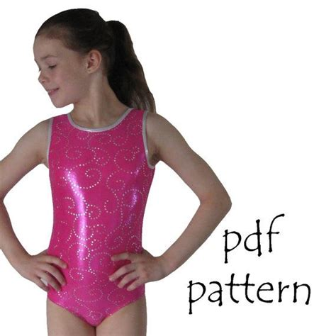 unitard pattern pdf leotard pattern leotards 1 gymnastics gym ballet dance
