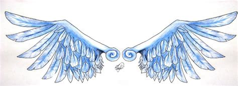 colored wings wings wide colored by lovelessfurubakare on deviantart