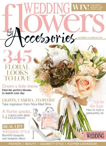 flower wedding magazine wedding flowers magazine sep oct 15 subscriptions pocketmags