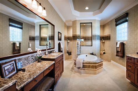 executive bathroom cordova at spanish wells luxury new homes in bonita