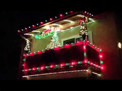 apartment christmas lights youtube