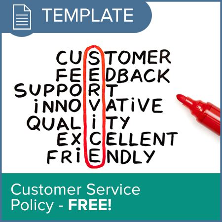 Customer Service Policy Osgo The Podiatry Membership Organisation Customer Service Policy Template