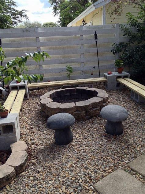 build pit base build a pit from cement landscape blocks diy