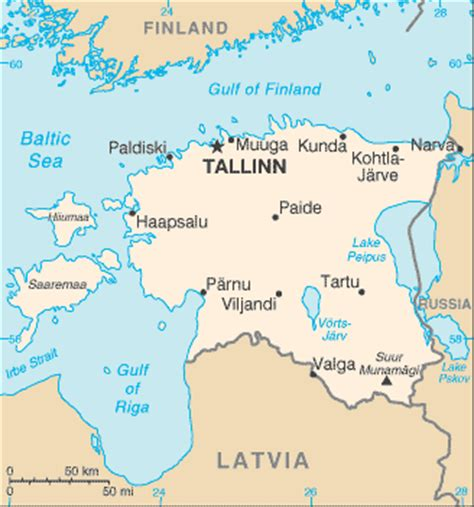 estonia on the world map estonia facts and figures