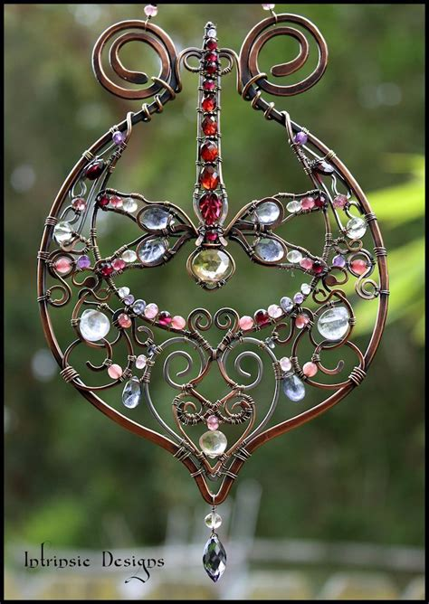 glass bead suncatchers crafts 80 best images about my suncatchers on gardens