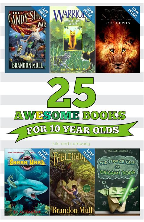 books for 25 awesome books for 10 year olds company