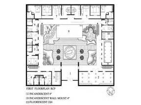 modern small house plans with courtyard home contemporary houseplan