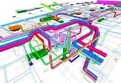 Building Plan Drawing mekanik tesisat proje gresis enerji