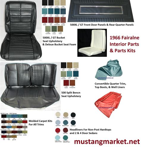 1966 Ford Mustang Interior Kits by 1966 Mustang Coupe Interior Kits Html Autos Weblog