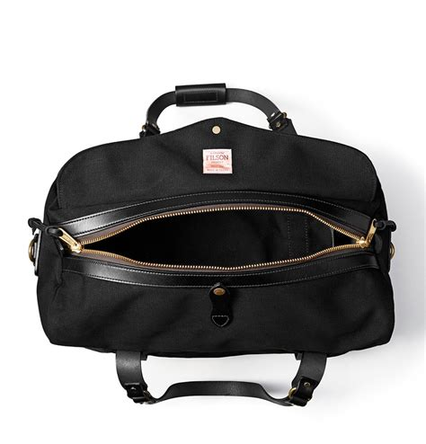 filson duffle medium  black perfect travelbag