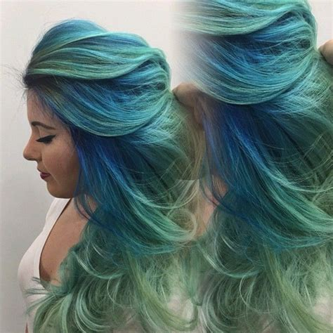 blue green hair color 20 teal blue hair color ideas for black bown hair