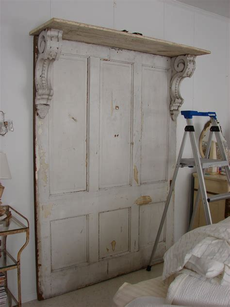 Headboards Made From Doors by Headboard Made From Doors Corbels For The Home