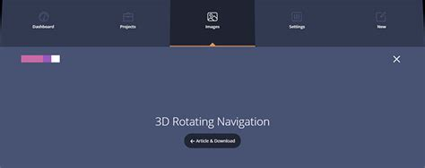17 awesome css navigation menu designs web graphic