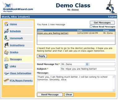 email student uksw student messages