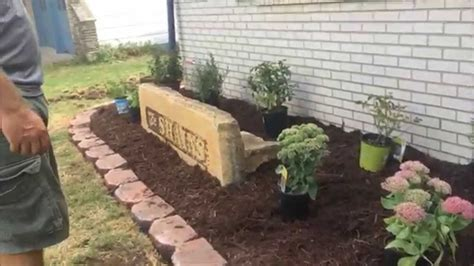 How To Create A Flower Garden Family Landscaping Project Redo Flower Bed