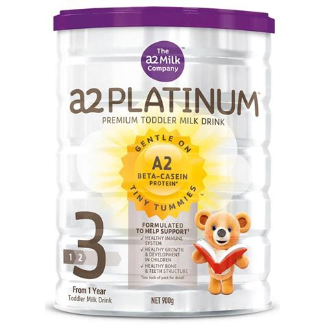 buy a2 platinum toddler milk drink stage 3 900 g by a2 priceline
