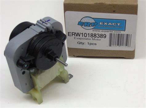 fridge fan motor replacement w10188389 for whirlpool kenmore refrigerator evaporator
