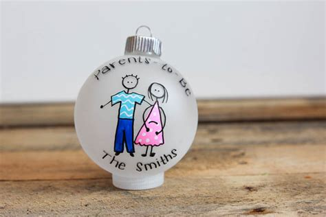 parents to be christmas ornament personalized for free