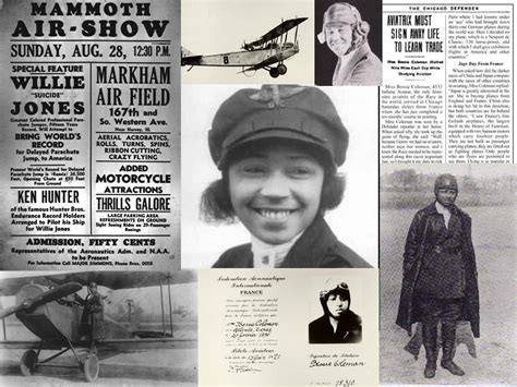 biography in spanish of bessie coleman aviation s pioneer colorful women program