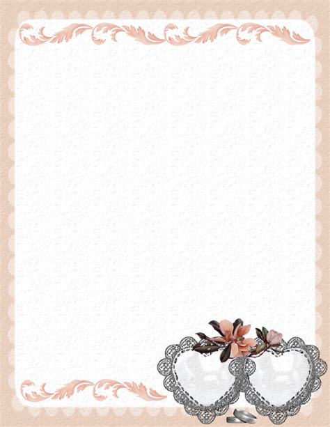 Wedding Stationery Theme Downloads Pg 2 Wedding Paper Templates