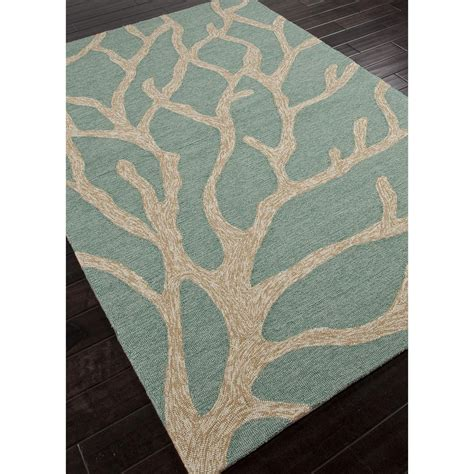 coral and blue rug jaipur coastal lagoon coral blue white col13 area rug free shipping