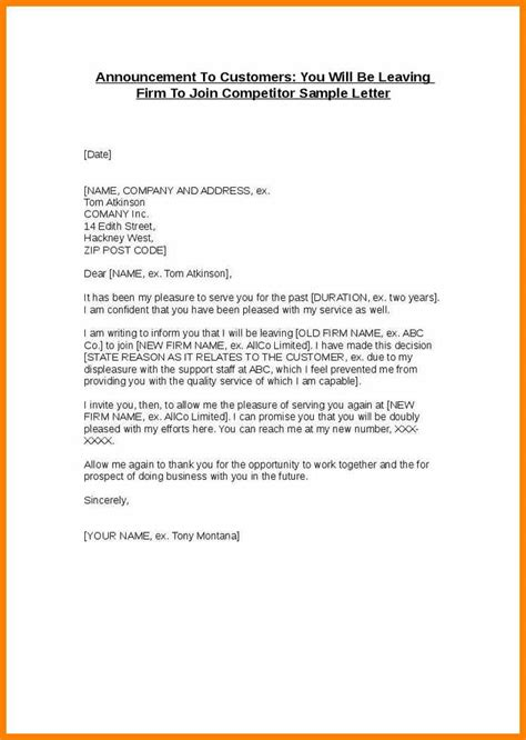 appreciation letter when leaving a company 10 sle letter for employee leaving the company edu