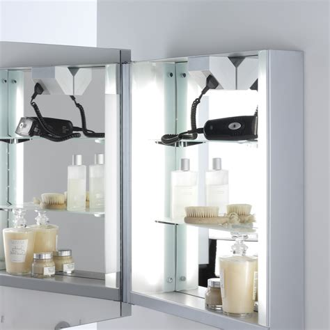 bathroom mirror shaver bathroom cabinet mirror shaver socket bathroom cabinets