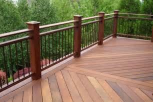 metal deck railing ideas architectural design