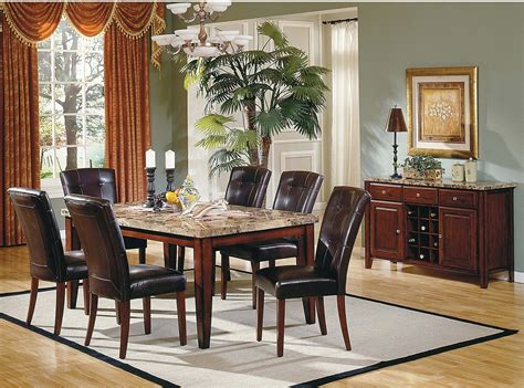 dining room adorable 7 piece formal dining room sets 9 montibello formal 7 piece dining package the brick