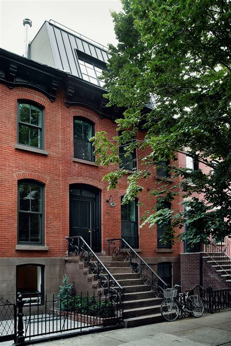 brownstone house a peek inside catbird founder s brooklyn brownstone home