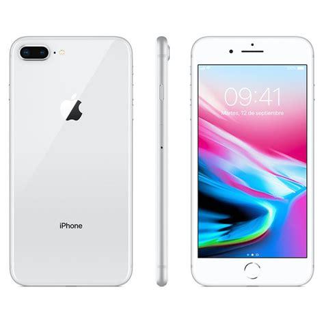 iphone 8 plus 64 gb ss plata 4g alkosto tienda