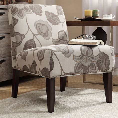 grey slipper chair inspire q peterson grey floral slipper chair
