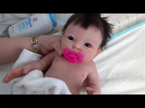reborn baby dolls full body solid silicone baby girl